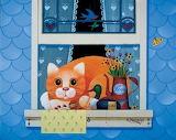 #WMP Cat in the Window