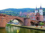 Old bridge Heidelberg Germany