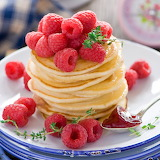 Rassberries Pancakes...