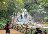Waterfall in Luang Prabang
