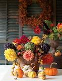 Fiori e frutta di ottobre