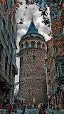 Istambul,Galata Tower