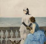 Dis-moi Tout by Vittorio Matteo Corcos 1883