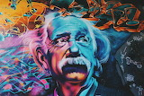 Urban Art Einstein