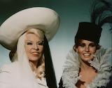 Mae West and Raquel Welch in Myra Breckinridge
