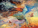 Josephine Wall 'The Spirit of Flight'