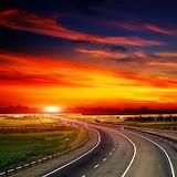 Highway Sunset...