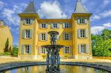 """Facade """"est"""" Château de La Brillanne"""