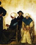 Peasants From Plougasnou - JF Raffaelli 1876