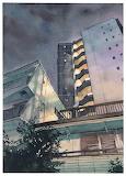 "Art tumblr archatlas ""Tokyo at Night"" ""Mateusz Urbanowicz""2"