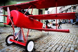 Replica of the Red Baron in Świdnica, Poland