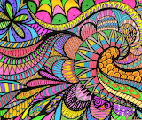 happy spring doodle