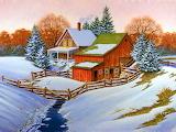 Winter Enchantment~ HD wp 1024x768