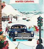 Winter Carnival~ vintage ad art