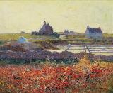 Saltmarsh Near Croisic by Ferdinand du Puigaudeau