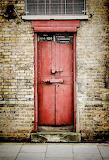 Old Red Door by Heather Applegate