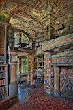 Libraries - Fonthill Castle Library - Doylestown, Pennsylvania