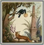 Le corbeau et le renard menu M IV 616