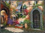 Italian Courtyard