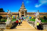 Buddhist temple, Sakon Nakhon, Thailand