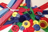^ Ribbon, buttons, zippers