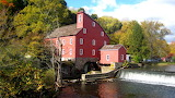 Grist Mill In Autumn USA