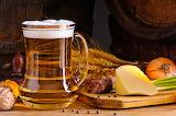 Cerveza y queso