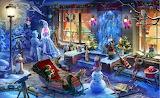 Christmas Scene ~ hidden objects game art
