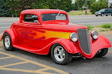 Ford hotrod red