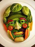 #Amazing Veggie Face
