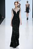 Slinky Black Gown