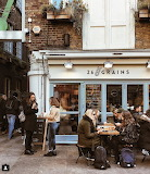 Shop Pub London England UK Britain Chelsea