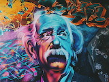 Einstein-graffiti