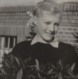Anna German as a teenager