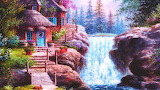 Besides the Waterfall