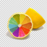Colorful lemon