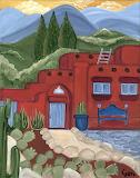 Geri Bringman - Home is Where the Heart is - 14 x 11