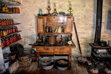 ^ Early American Pioneer Kitchen