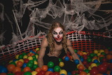 Left in the ball pit