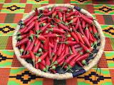 red pepper basket