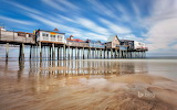 Pier at Old Orchard Beach. Maine