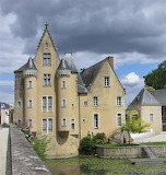 Chateau de Carmes a la Fleche - France