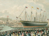 The Launch of the SS Great Britain 1843