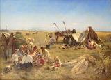 Konstantin Makovsky - Peasant lunch in the field