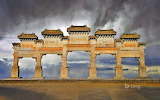 Eastern Qing Tombs Hebei Province. China.
