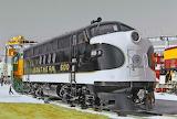 Train Locomotive Southern Railway #6100