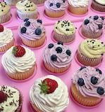 Colorful cupcakes @ Torteundmehr