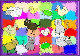 Colourful Cartoon Animal Clipart