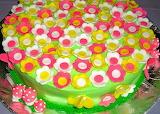 Flowery cake @ Pattycakes