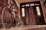 Bike at the door